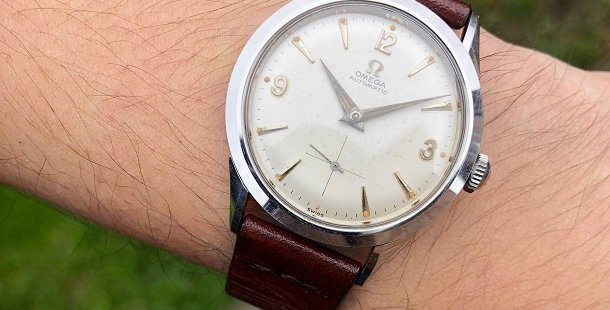 1958 OMEGA AUTOMATIC WATCH