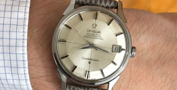1968 OMEGA CONSTELLATION PIE PAN