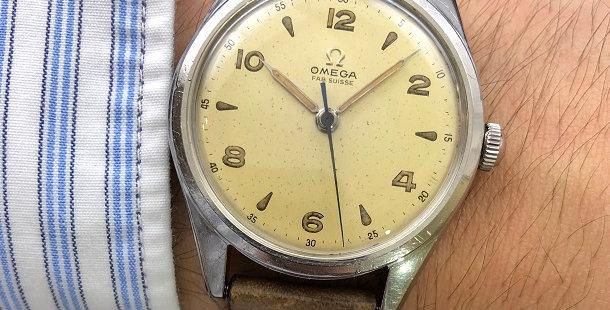 1949 OMEGA CENTER SECOND