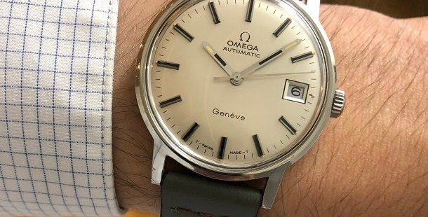 1971 OMEGA GENEVE WATCH