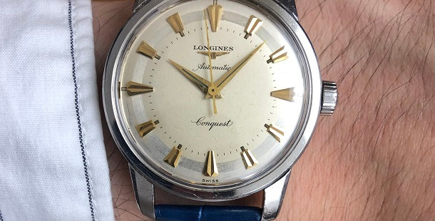 1956 LONGINES CONQUEST WATCH