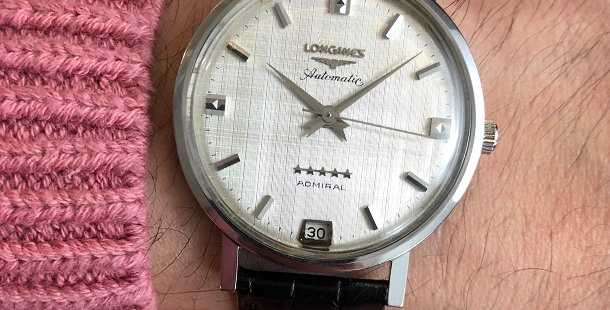 1963 LONGINES ADMIRAL 5 STARS