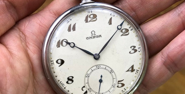 1934 OMEGA POCKET WATCH