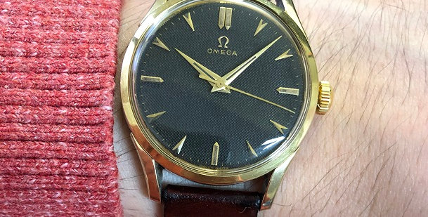 1953 OMEGA CENTER SEC WATCH