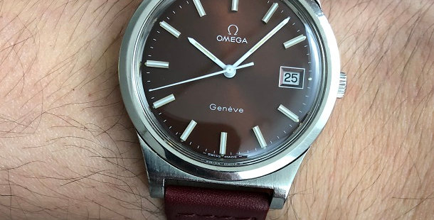 1974 OMEGA GENEVE WATCH