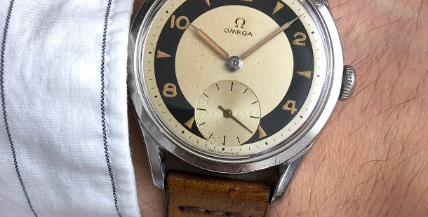 1952 OMEGA BULLSEYE WATCH