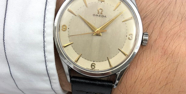 1955 OMEGA CENTER SECOND WATCH