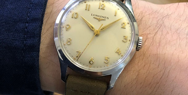 1956 LONGINES CENTER SECOND