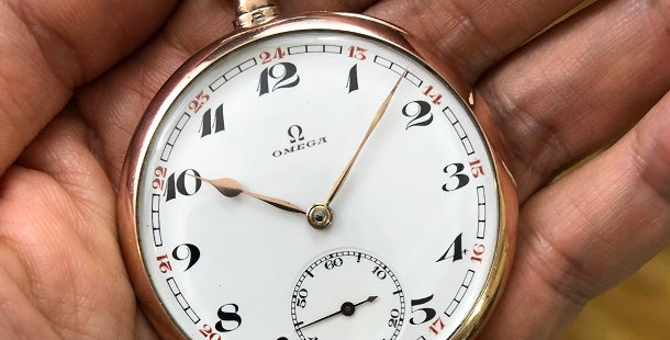1927 OMEGA POCKET WATCH