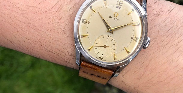 1952 OMEGA SUB SECOND WATCH
