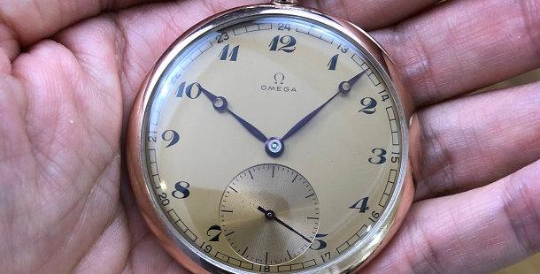 1951 OMEGA POCKET WATCH