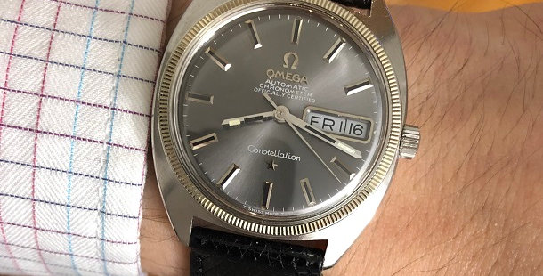 "1969 OMEGA CONSTELLATION ""C"" WATCH"