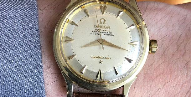 1952 OMEGA CONSTELLATION 14K
