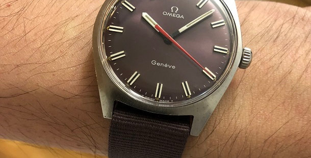 1968 OMEGA GENEVE WATCH
