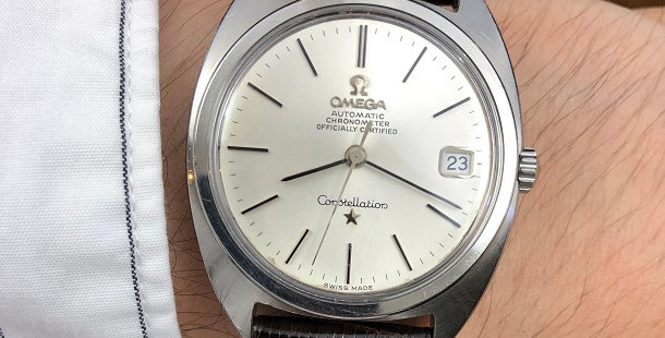 "1966 OMEGA CONSTELLATION ""C"" WATCH"