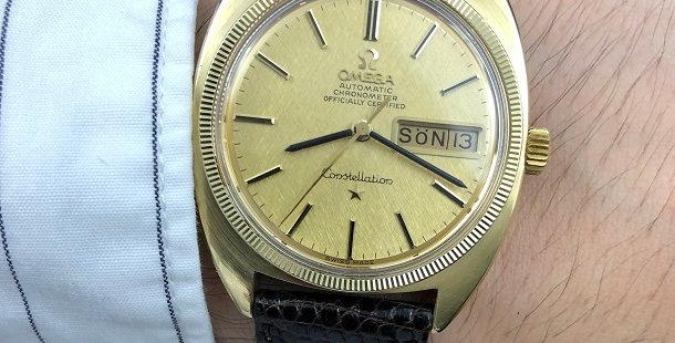 "1969 OMEGA CONSTELLATION ""C"" WATCH"