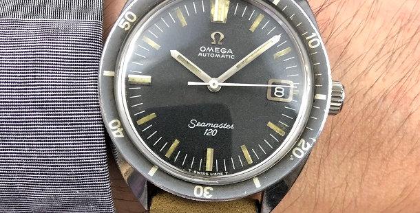 1968 OMEGA SEAMASTER 120
