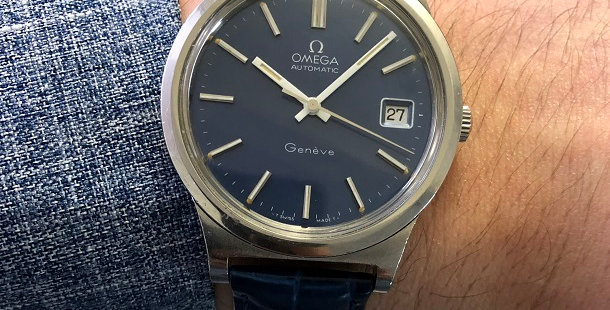 1973 OMEGA GENEVE WATCH