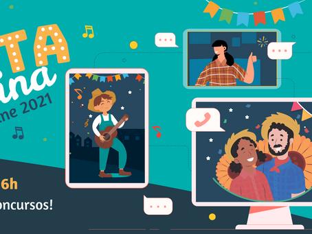 Festa Junina on-line da Escola Nazaré CG será no dia 26
