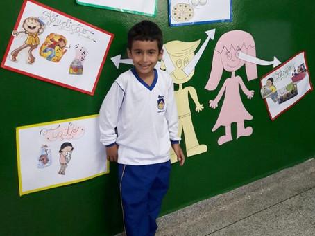 Alunos da educação infantil participam de projeto sobre os sentidos