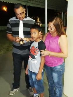 Noite com os pais