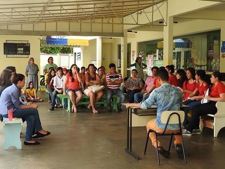 Alunos da Escola Nazaré Campo Grande simulam julgamento da Capitu
