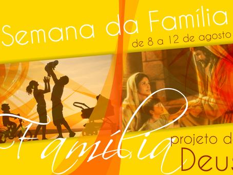 Semana Nacional da Família da Escola Nazaré começa nesta segunda-feira
