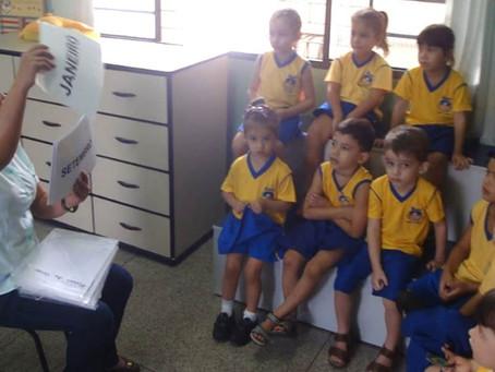 BITS de Inteligências auxiliam no aprendizado dos alunos da educação infantil da Escola Nazaré