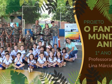 Alunos do primeiro ano realizam o projeto O Fantástico mundo dos animais