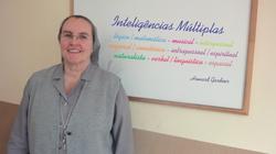 Madre Montserrat em visita ao Brasil