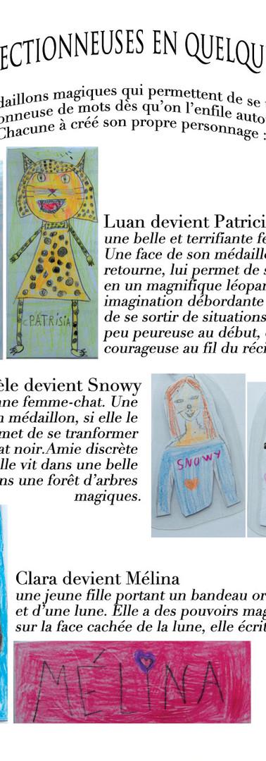Chroniques des fabuleuses aventures des collectionneuses de mots