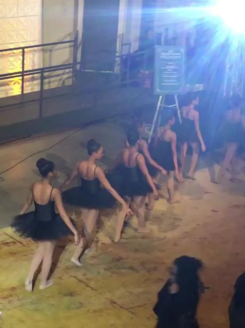 Brown Ballerina Performance Snippet