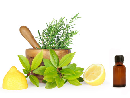 Fewer Toxins, More Plants: Cooking and Cleaning with Essential Oils