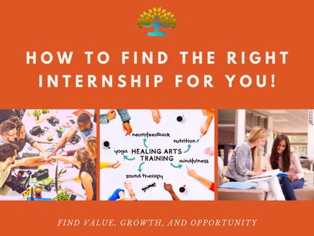 How to Find the Right Internship for You
