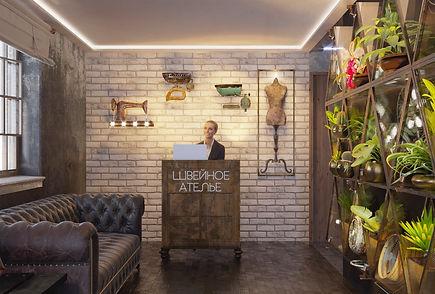 дизайн интерьера квартир, коттеджей, офисов, ресторанов и многих других помещений общественных, административных и промышленных зданий