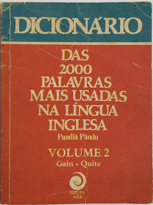 Dicionário das 200 palavras mais usadas na língua inglesa