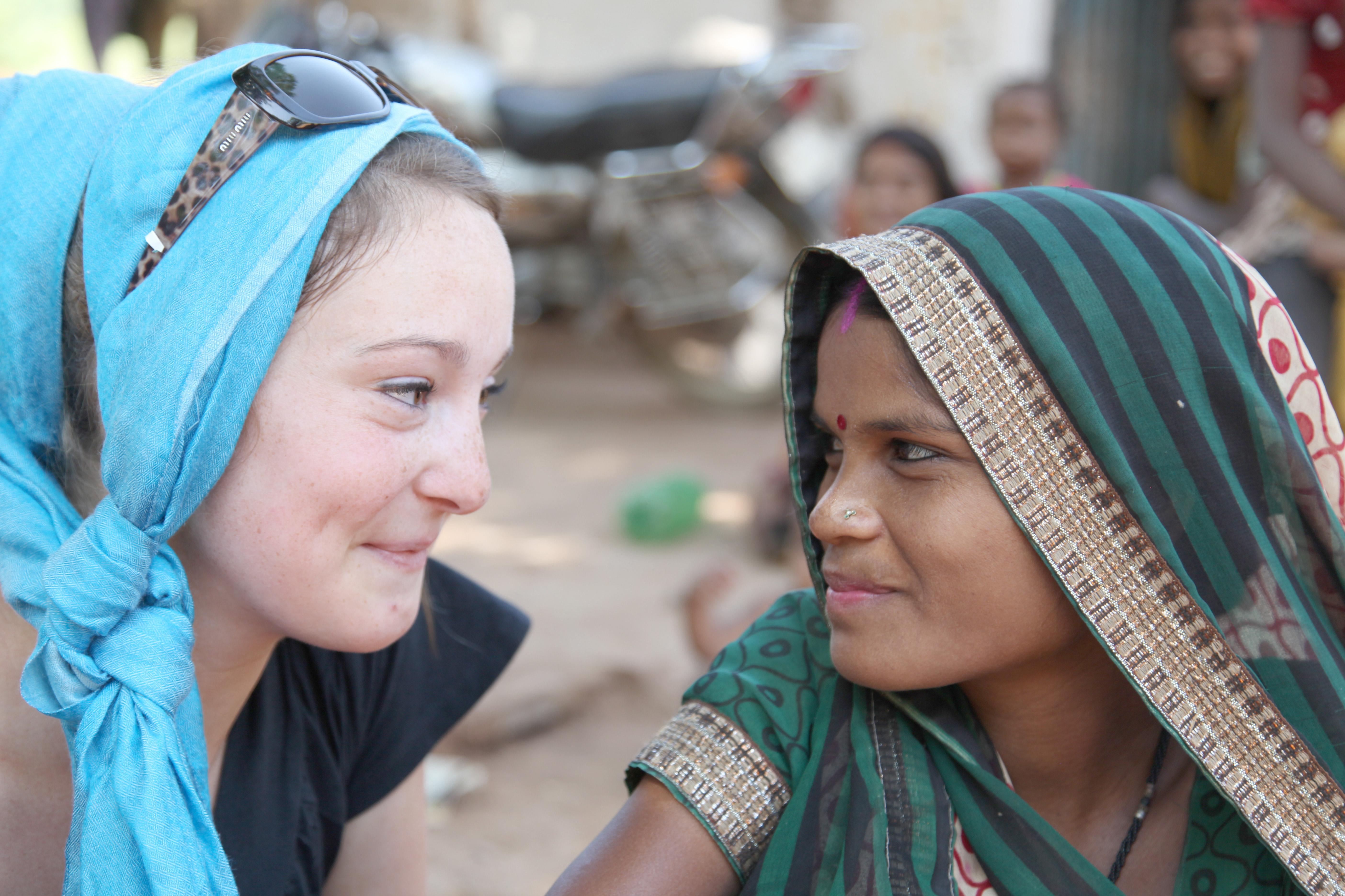 Luice et une jeune indienne Rencontres e
