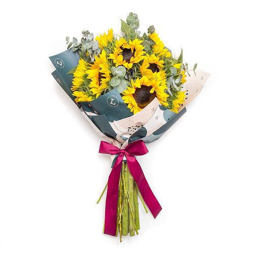 Sunflower bouquet deluxe