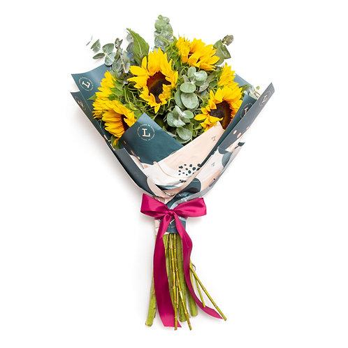 Sunflower bouquet petit
