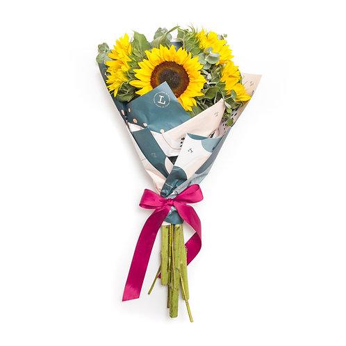 Sunflower bouquet mini