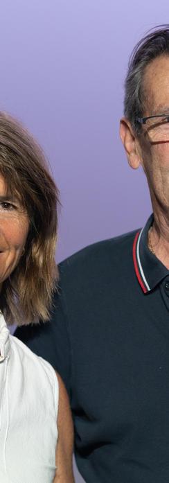 Pierre et Corinne Locca
