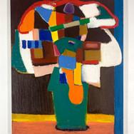 Slam dunk Oil on canvas 100 x 80 cm