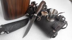 Фляжка 2 л. «Разведчик» + Нож Разведчика НР-40, складной стаканчик-3 шт. 2