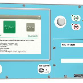 MIL3000 all new modular generator.