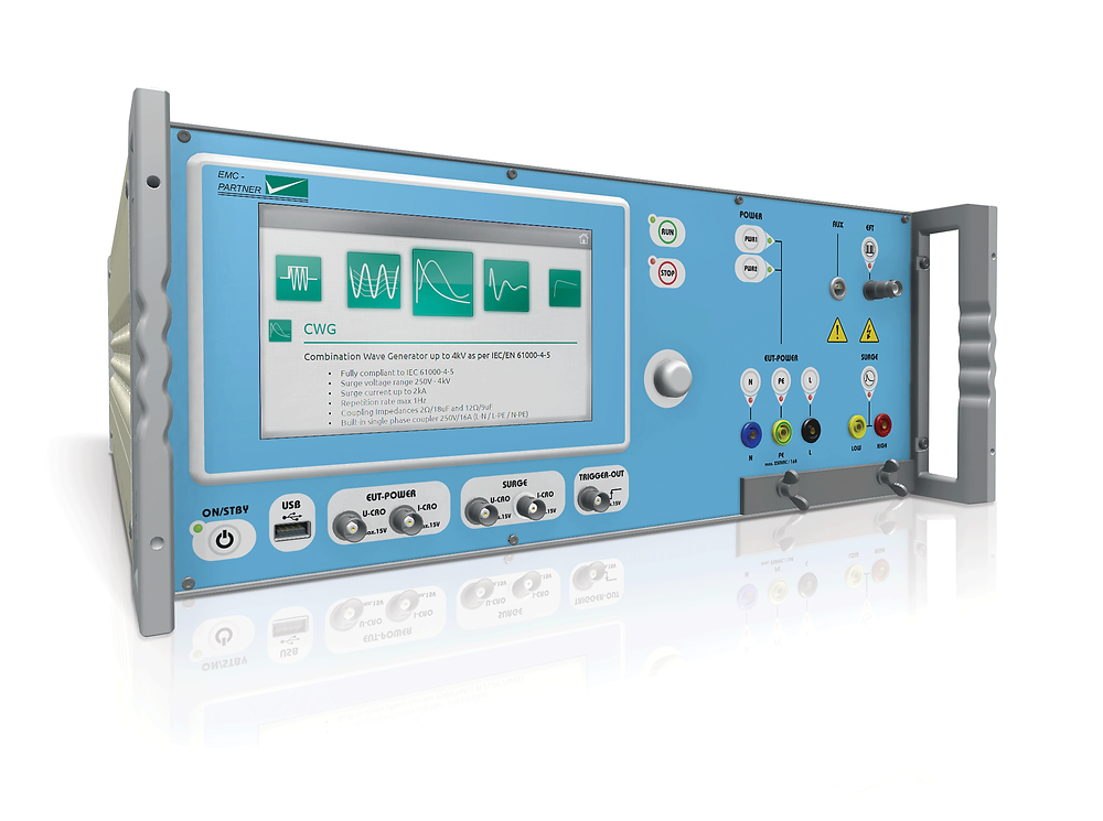 All new IMU4000 SURGE module - 5kV in accordance with IEC 61000-4-5 ED3