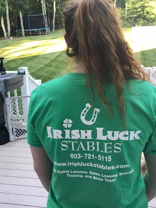 Short Sleeve Light Green T-Shirt