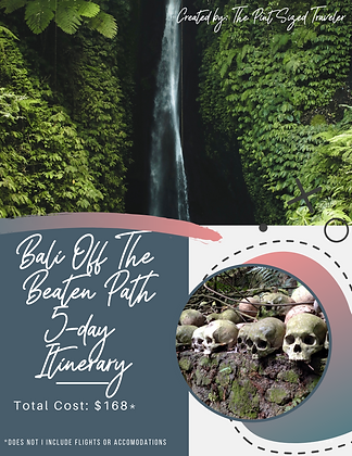 Bali Off The Beaten Path 5-Day Itinerary