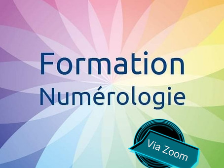 Formation Numérologie via Zoom