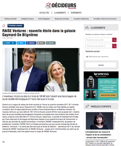 Decideurs Magasine- Oct 2017
