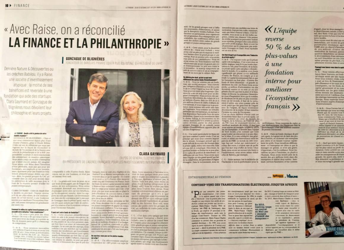 Presse La tribune-Oct 2017